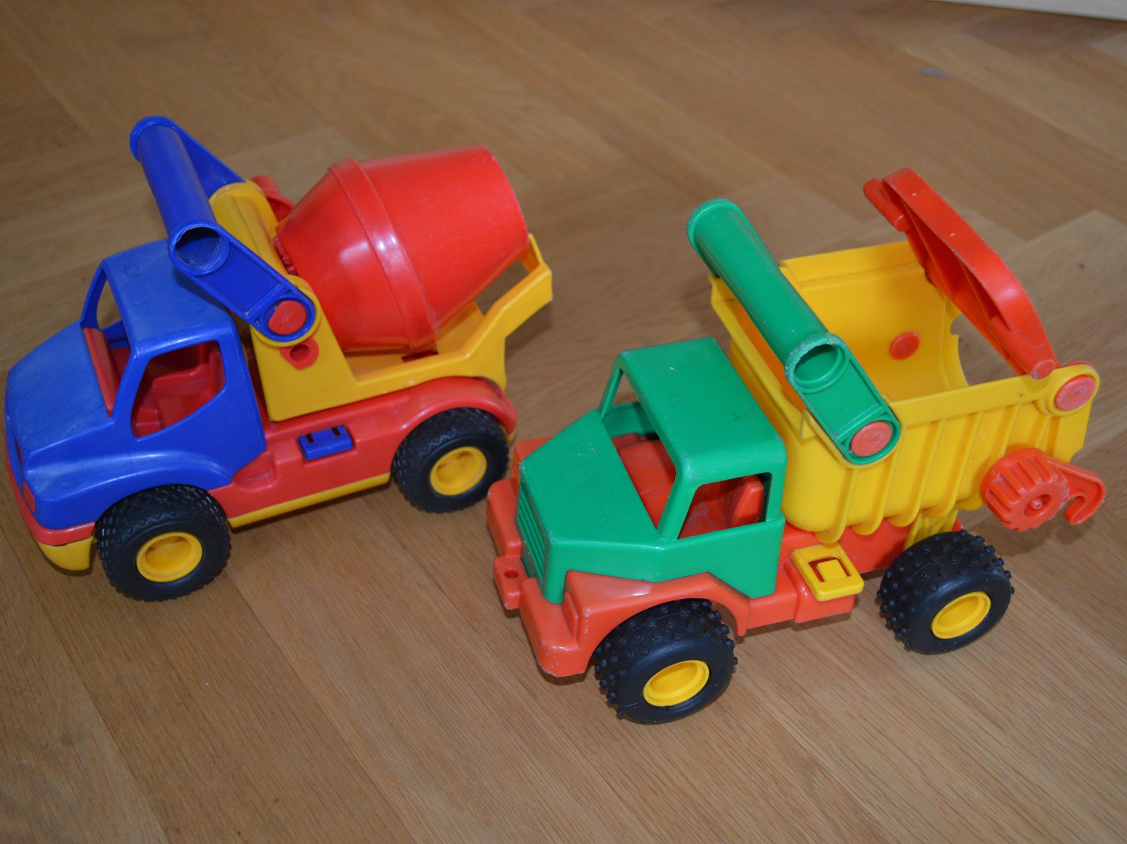 Wader spielzeug auto lkw kipplaster betonmischer